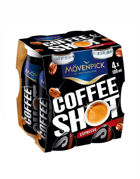 Bauer movenpick espresso shot 4x 100ml