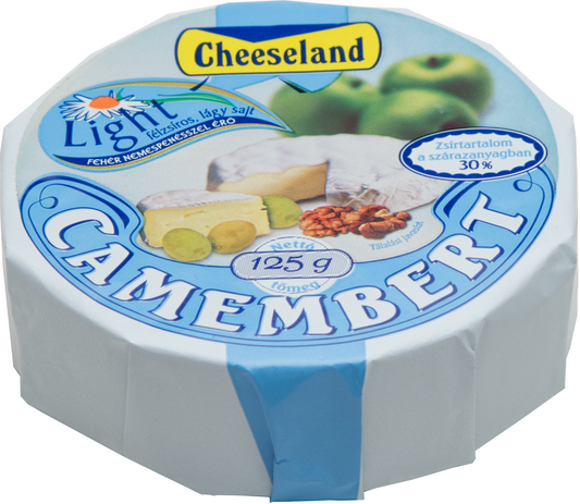 cheeseland camembert light 125g
