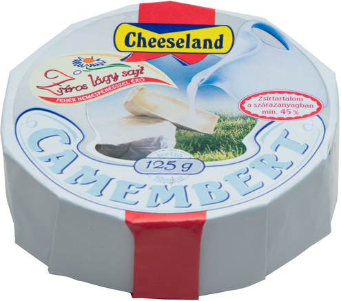cheeseland camembert sajt 45sz 125g